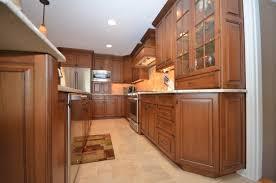 Wood Kitchens Medium Stained Wood Kitchen Holmdel Nj By Design Line Kitchens
