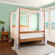 4 Poster Bed Frames Shaker Wooden Poster Bed Solid Wood 4 Poster Beds In Cherry
