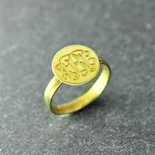 Monogram Rings Gold The 25 Best Monogram Rings Ideas On Pinterest Good Gift Ideas