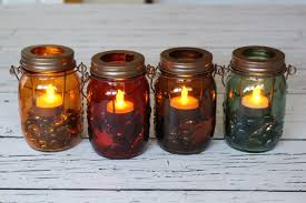 fall jar candles yesterday on tuesday