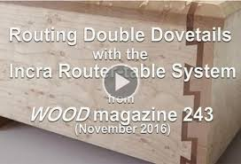 Wood Joints With A Router by Sliding Dovetails