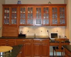 Cabinet Wood Doors Kitchen Luxury Frosted Glass Kitchen Cabinet Door With Brown