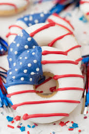 Smerican Flag American Flag Donuts The First Year