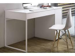 conforama bureau temahome prado bureau blanc mat avec 1 tiroir et 1 caisson