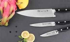 Colored Kitchen Knives Cangshan V2 Series 61819 3 Piece Starter Knife Set Cangshan