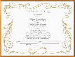 marriage certificate templates eliolera com