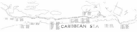Map Of Southern Caribbean by Belize Maps Map Of Ambergris Caye Belize And Belizean Area