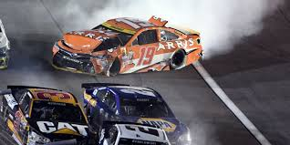 Red Flag Nascar Carl Edwards Crashes With Nascar Championship On The Line