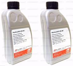 mercedes hydraulic fluid 2l for convertible top pump