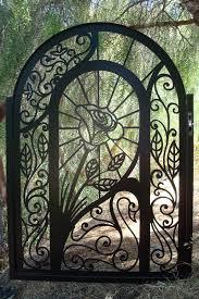 metal garden doors home design
