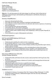 call center resume call center objective for resume resume for study