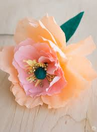 crepe paper flowers crepe paper flowers diy pretty peonies think make
