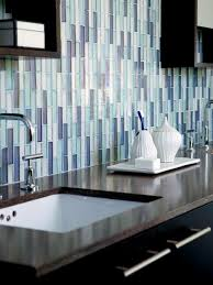 Blue And Brown Bathroom by Bathroom Black And Brown Colorful Tile Flooring Plus Wall Tissue