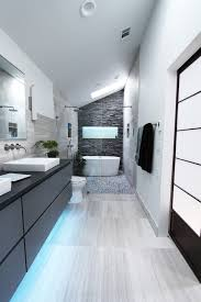 Low Cost Wall Decor Low Cost Wall Decor Bathroom Contemporary With Light Under Vanity