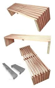 Designer Wooden Benches Outdoor by Certified And Recovered Wood Design Furniture By Arqom Treehugger