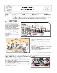 Test Of Genius Worksheet Answers Calaméo Worksheet No 2 8th Grade