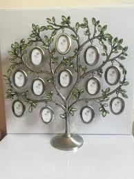 fashion family tree green rhinestone photo frame baby birthday