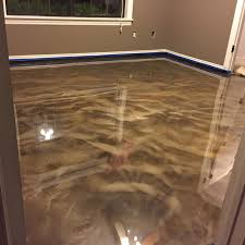 my diy metallic epoxy floor home improvement ideas pinterest