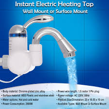 Water Heater Wall Mount Buy Instant Electric Heating Tap Wall Mount Or Surface Mount
