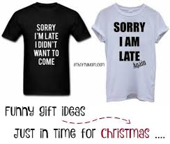 funny t shirts just in time for christmas