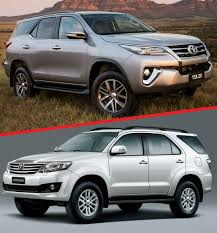 fortuner comparison toyota fortuner second gen vs first gen toyota