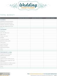 wedding budget 14 useful wedding budget planners baby