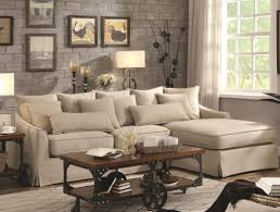 mccreary sectional sofa modern slipcover sofa white slipcovered mccreary mid century coaster