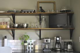 Wood Shelf Support Designs by Wall Shelves Design Metal Kitchen Wall Shelves Ideas Kitchen
