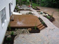Small Backyard Deck Patio Ideas Fantastic Small Backyard Decks Patios In Home Decorating Ideas