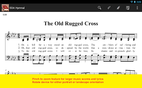 Old Rugged Cross Music Sda Hymnal Android Apps On Google Play