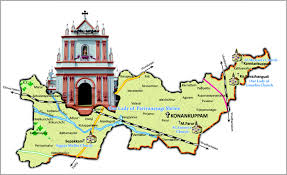 Lourdes France Map by Archdiocese Of Pondicherry And Cuddlaore