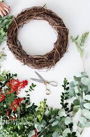 Holiday Wreath Diy Simple Holiday Wreath Fresh Exchange