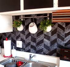 Inspired Whims Creative And Inexpensive Backsplash Ideas - Creative backsplash