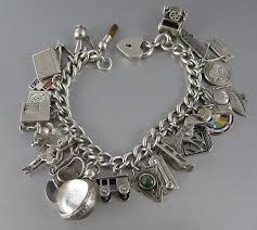 s charm bracelet charm bracelets 60 s and 70 s mine as gold and i am still wishing