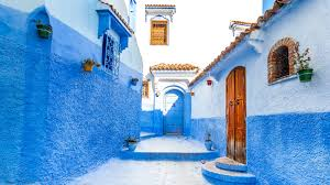 Morocco Blue City by Campervan Travel In Morocco Mowgli Adventures