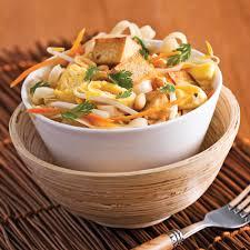 cuisine végé pad thaï végé recettes cuisine et nutrition pratico pratique