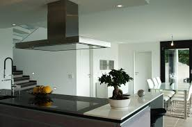 kitchen islands with stove top amazing modern open kitchen design with white table bar stools
