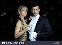 cocktail party photography young rich couple at luxury party young couple in evening dress