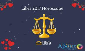 libra horoscope 2017