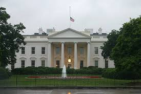 whitehouse bureau de change flags at half staff to honor president ford millard fillmore s bathtub