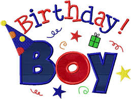 boy birthday happy birthday girl and boy machine embroidery design applique two