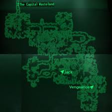 Fallout 3 Map by Image Deathclaw Sanctuary Loc Map Jpg Fallout Wiki Fandom