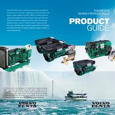 volvo commercial dealers product guide commercial volvo penta pdf catalogue technical