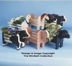 animal planter planter woodworking plans animal planter collection patterns