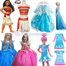 Anna Elsa Halloween Costumes Elsa Dress Ebay