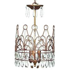 Gold Chandelier Light Enchanted Gold Crown Chandelier Riccimarie Ricci