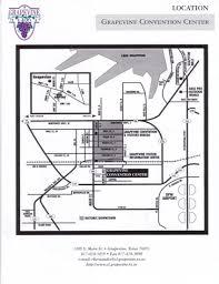 Grapevine Map Grapevine Convention Center Maps