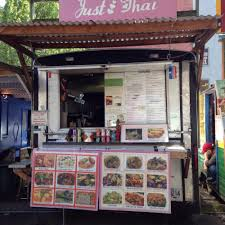 Portland Food Cart Map by Just Thai Portland Food Trucks Roaming Hunger