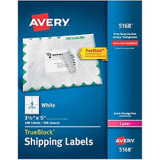 avery design pro 5 avery 3 1 2 x 5 laser shipping white labels with trueblock 400