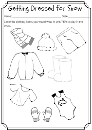 preschool winter worksheets free worksheets library download and